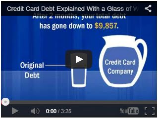 Credit Card Debt Facts and Video Illustration