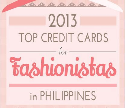 Top Credit Cards in The Philippines for Fashionistas 2013 [Infographic]