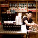 barista in a coffee shop in manila