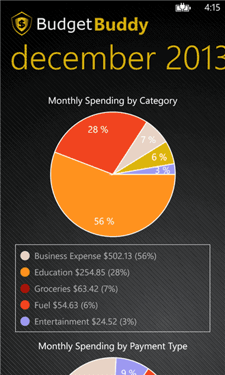 Budget Buddy App