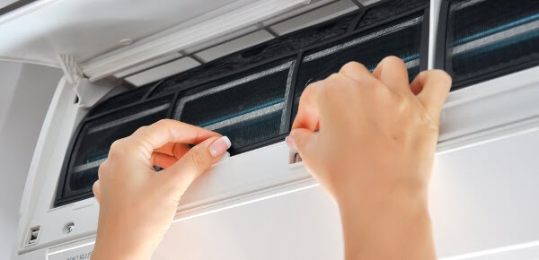 change aircon filters