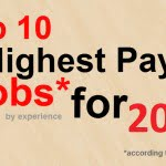 Top 10 highest paying jobs in 2014
