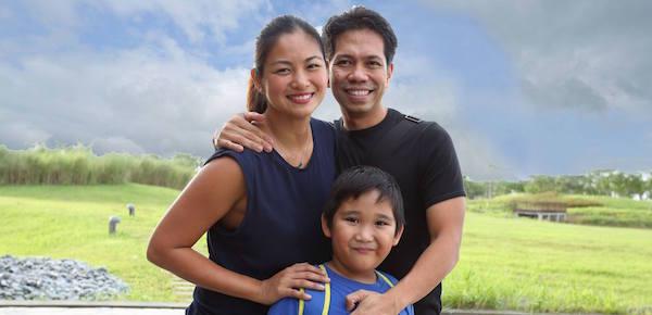 miriam quiambao-roberto - family