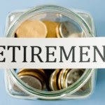 Retirement Sign With Coin Jar