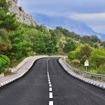 winding scenic road