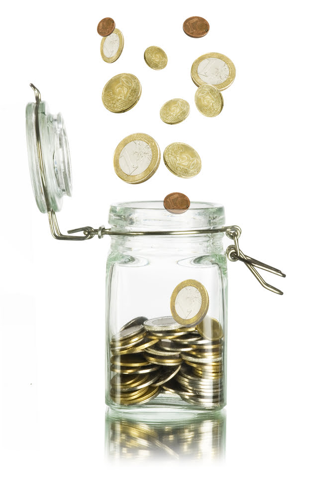 mutual funds is like a jar of coins