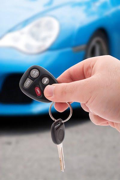 car with keys